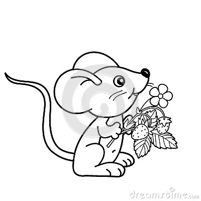 little mouse coloring pages - photo#17
