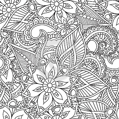 Coloring Pages For Adults Seamles