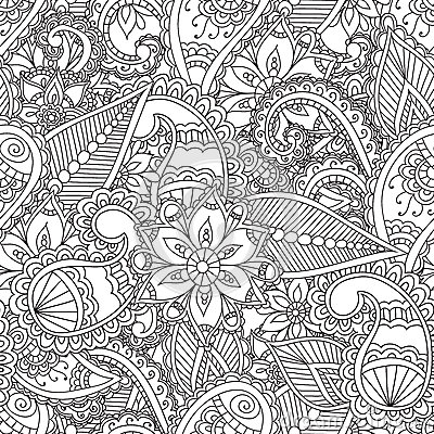Coloring pages for adults. Vector Illustration