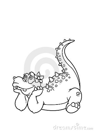 Coloring pages dinosaur