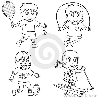 Coloring Sport for Kids [3]