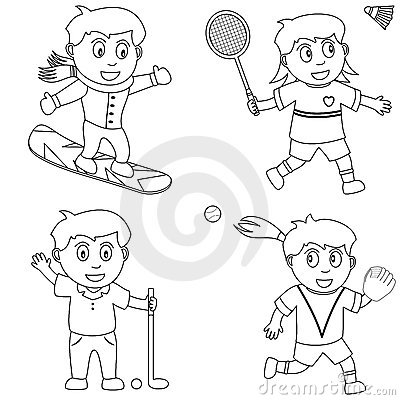 Coloring Sport for Kids [5]