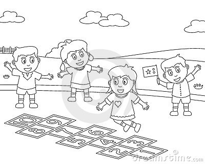 Coloring Sport For Kids 8 Stock Image Image 12403721
