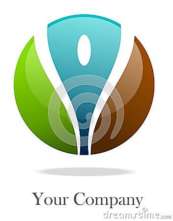 Colorize  logo sphere
