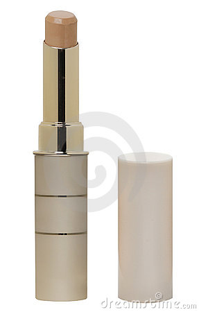 Colorless lipstick with lid