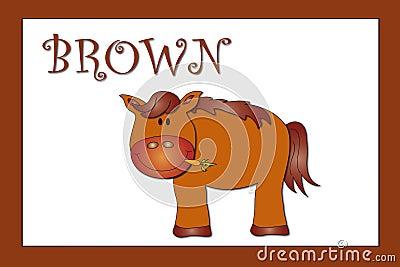 Colors: brown