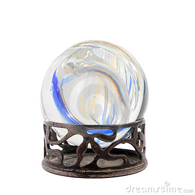 Colors in a crystal ball