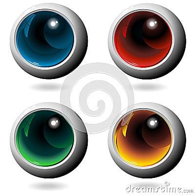 Colors Crystal Metal Spheres