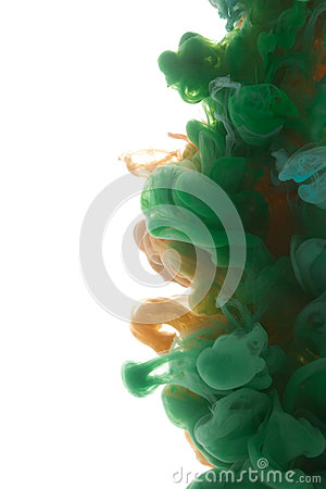 Free Colors Dropped Into Liquid And Photographed While In Motion. Ink Royalty Free Stock Image - 88253626