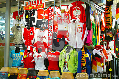 The colors of Euro 2012. Editorial Stock Image