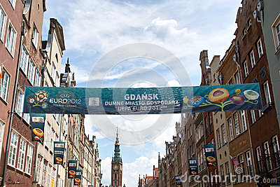 The colors of Euro 2012. Editorial Image
