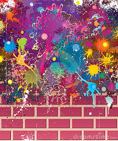 Colors Grunge Wall
