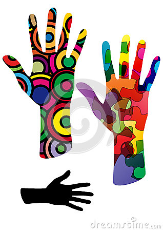 Colors hand