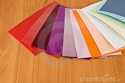 Colors of the material