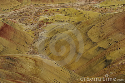 Colors of painted hills