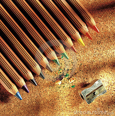Free Colors Pencil Royalty Free Stock Photo - 10211605