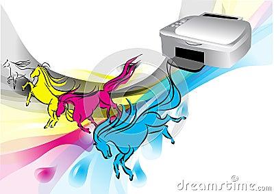 Colors of printer