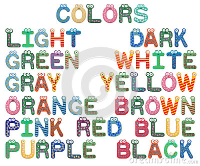 Colors Set for Children