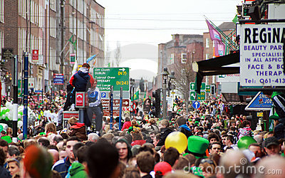 Colors of St. Patrick s Day Editorial Image