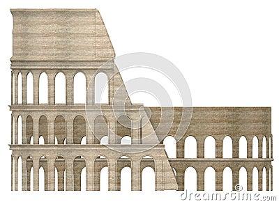 Coloseum arena building