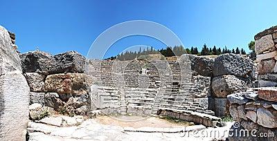 Coloseum  in Ephesus  Efes  Turkey, Asia -Panorama