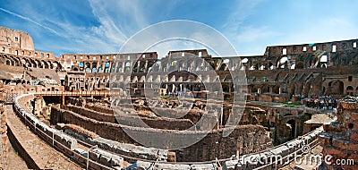 Coloseum panorama