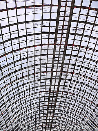 Colossal glass roof