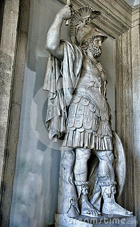 Free Colossal Statue Of Mars: Pyrrhus In Museum Capitoline, Rome Italy Royalty Free Stock Images - 55117819