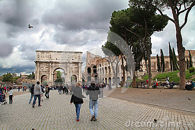 Colosseo Editorial Stock Image