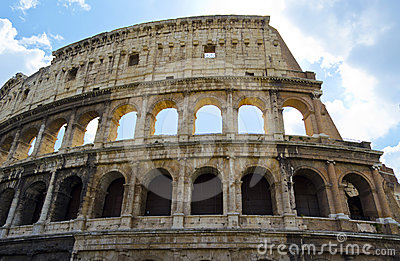 Colosseo in Rome - Italy