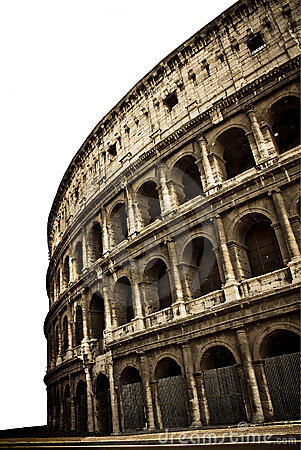 Free Colosseum Close Up Isolated  Stock Images - 16812794