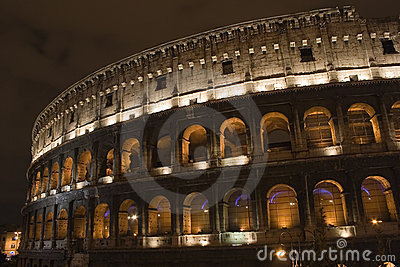 Colosseum de Night