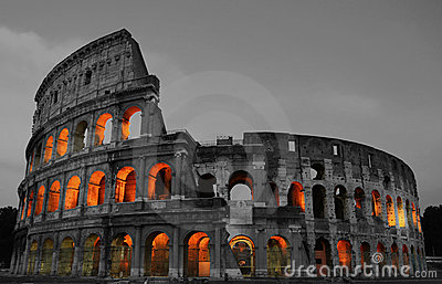Colosseum noc Rome