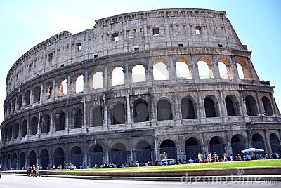 The Colosseum , Rome Editorial Photo