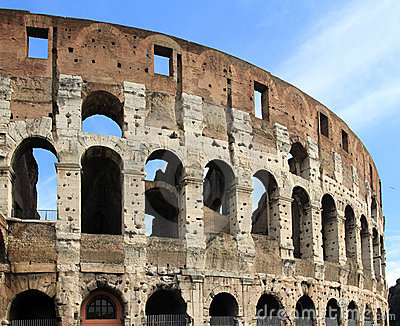 Colosseum In Rome Stock Photos - Image: 19164723