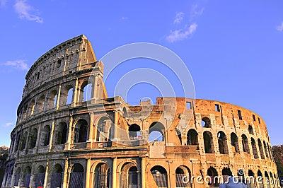 Colosseum of Rome city