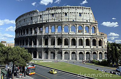 Colosseum - Rome - Italy Editorial Image