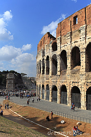 Colosseum,Rome, Italy Editorial Image