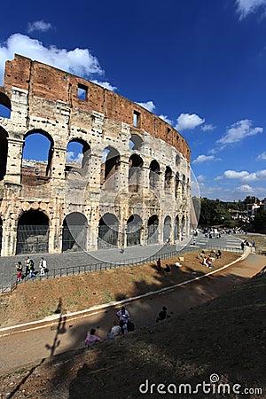 Colosseum,Rome, Italy Editorial Stock Photo