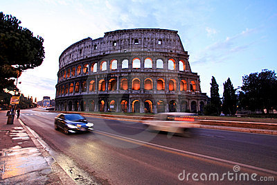 Colosseum,Rome, Italy Editorial Photo