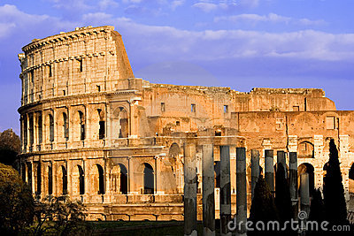 Colosseum tegen Dag