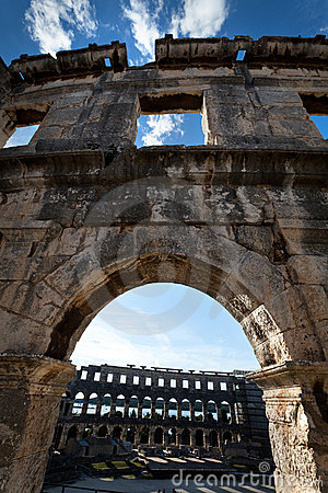 Colosseum Window