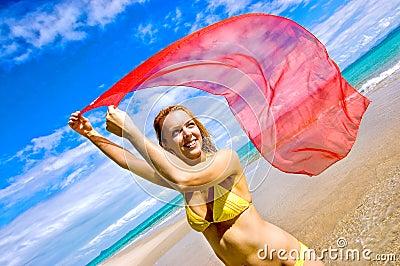 Colour at the beach