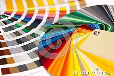 Colour card RAL
