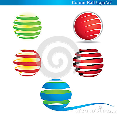 Colour Globe Ball Logo