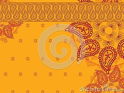Colour Henna Mandala Background Stock Photo  Image 23908460