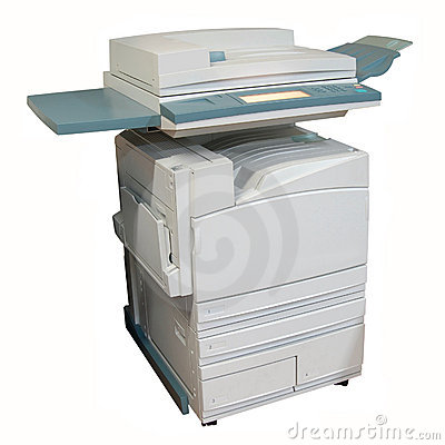 Free Colour Laser Copier Royalty Free Stock Image - 1423136