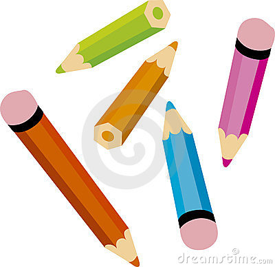 Colour pencils