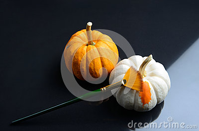 The colour of pumpkin