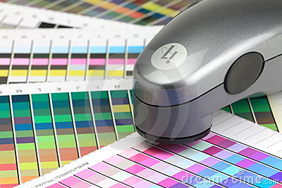Colour Scanner Editorial Stock Image